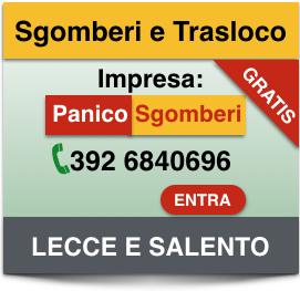 impresa svuota cantine Lecce e Provincia