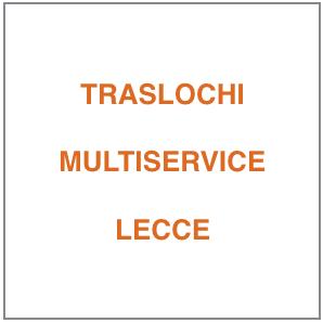 Ditta Traslochi Multiservice Lecce